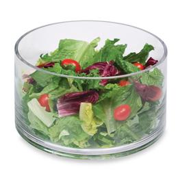 Artland Simplicity Cylinder 9″ Glass Salad Bowl