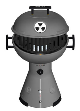 Gastar miGrill Tabletop Gas Grill with Built-In Speakers