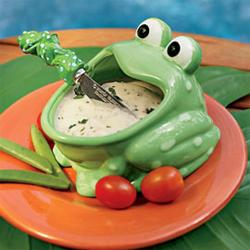 Frog Dip Bowl & Spreader