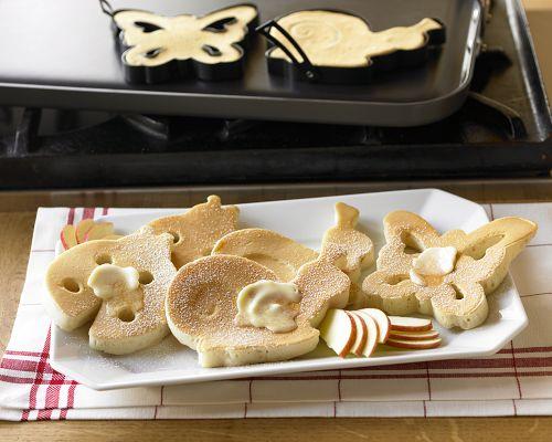 Garden Creatures Pancake Molds