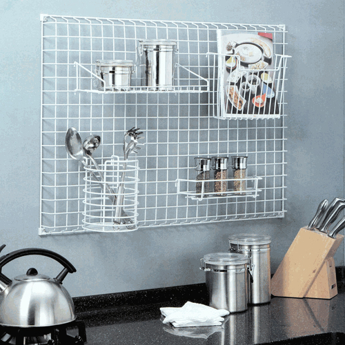 Kitchen Grid Storage System
