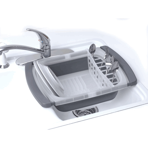 Collapsible Over Sink Dish Rack by Progressive