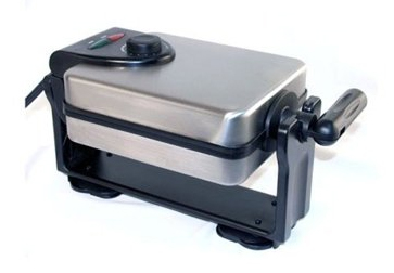 Four Square Belgian Flip Waffler by CucinaPro