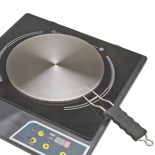 Burton 8-Inch Induction Interface Disk with Heat-Proof Handle