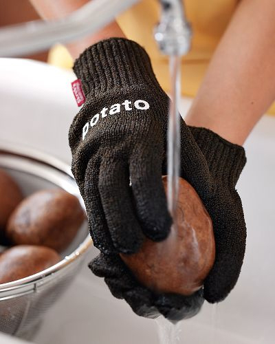 Potato Scrubbing Gloves