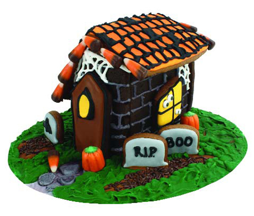 Fox Run Halloween Gingerbread Haunted House Kit