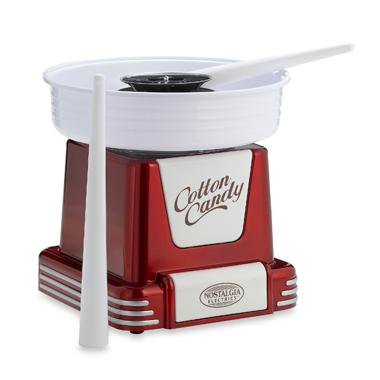 Nostalgia Electrics Retro Series 50's Style Cotton Candy Machine