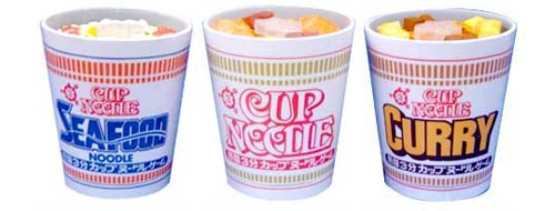 Cup Noodle Puzzle Game Variety