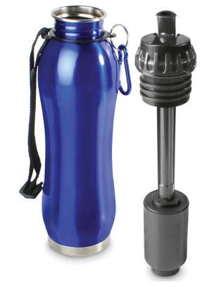 The Self Filtering Water Bottle from Hammacher Schlemmer.