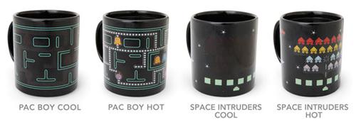 Heat Changing Arcade Mugs