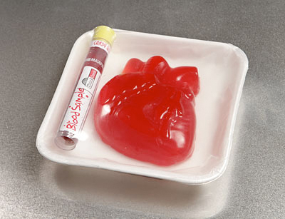 Giant Bleeding Heart Gummy Candy