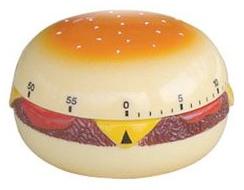 60-Minute Hamburger Kitchen Timer