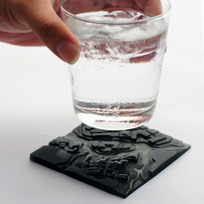 Flowing City Coasters by Megawing