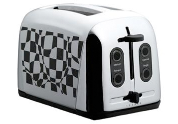 Prestige 2-Slice Checked Toaster