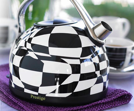 Prestige 1.5L Checked Dome Kettle