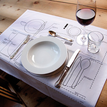 Placesetting Placemat Donkey Products