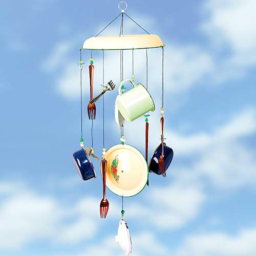Dishware Wind Chime