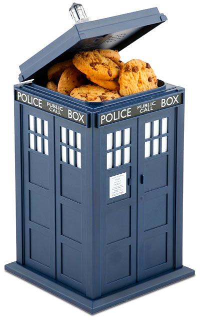 Doctor Who Talking TARDIS Cookie Jar