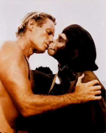 Planet of the Apes -- The Kiss