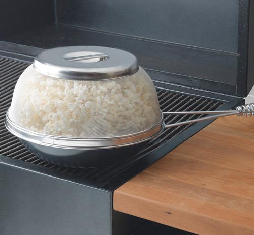Nordic Ware Grill Popcorn Popper, Model 06100