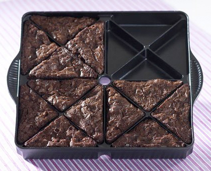 Brownie Wedge Pan by Nordic Ware