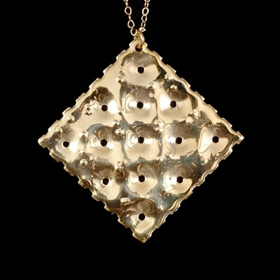 Golden Saltine Necklace by Emily Elizabeth Jewelry
