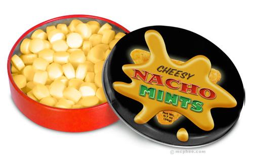 Cheesy Nacho Mints