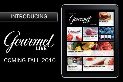Gourmet Magazine is now Gourmet Live.