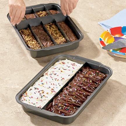 Dividable Brownie/Cake Pan