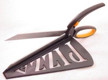 Noble Cut 'n' Serve Pizza Scissors