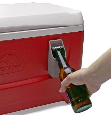 HomeWetBar Port-o-Cooler Bottle Opener and Cap Catcher