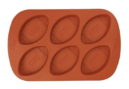 Wilton Mini Football Silicone Mold