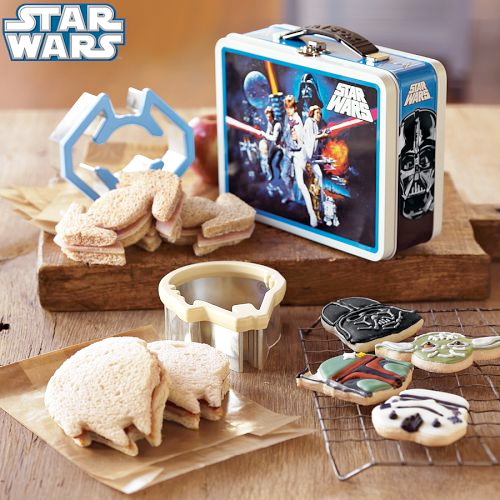 Star Wars Sandwich Cutters with Vintage-Style Tin