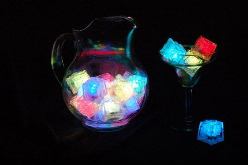 Litecubes RAINBOW Light up LED Ice Cubes