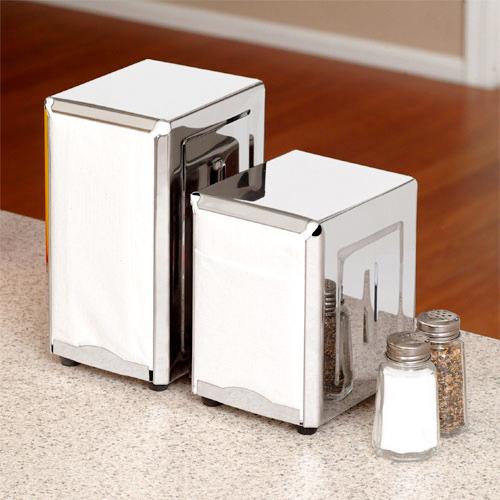 Stainless Napkin Dispenser