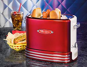 Nostalgia Electrics RHDT-700RETRO Pop-Up Hot Dog Toaster
