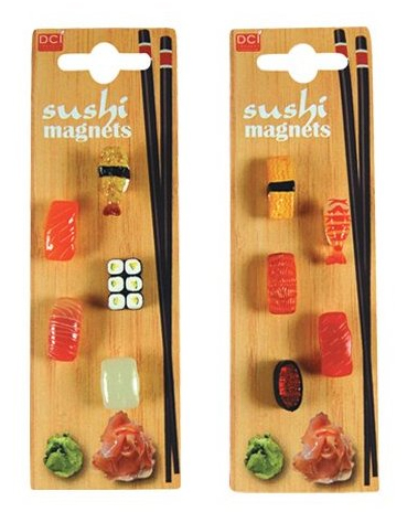 DCI Gifts Mini Sushi Magnets