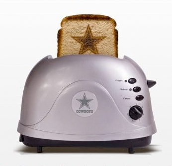 Pangea Dallas Cowboys Protoast Toaster