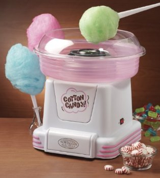 Nostalgia Electrics PCM-805 Hard Candy/Sugar Free Cotton Candy Maker