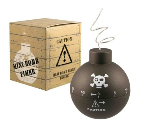 Time Bomb Kitchen Timer