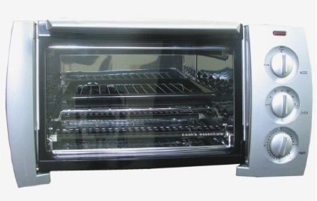 Cooks Essentials Stainless Steel Design Toaster Oven