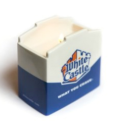 White Castle Ceramic Scented Candle