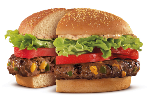 New BK STUFFED STEAKHOUSE Burger Spices Things Up from the Inside Out with Jalapeño and Cheddar.