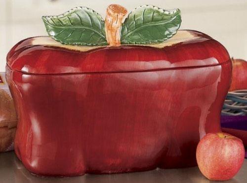 Apple Bread Box