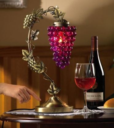 Grapevine Desk And Table Touch Lamp by Collections Etc