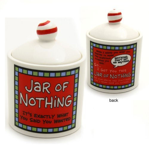 Jar of Nothing by Our Name is Mud