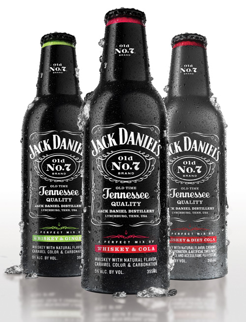 Jack Daniel's Introduces Tennessee Whiskey-Based Ready-to-Drink Beverages in the United States