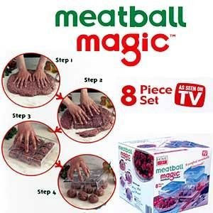 Meatball Magic Meatball Maker (8 pc Set)