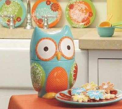 Daisy Do Vintage 1970's Style Owl Cookie Jar