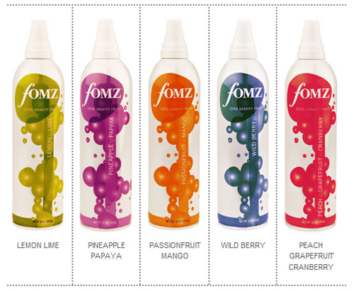 FOMZ, Zero Gravity Fruit in a Can